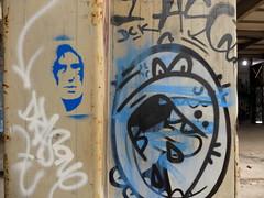 Graffiti (oerendhard1) Tags: graffiti streetart urban art vandalism rotterdam ferro fabriek omin ominous jimmy granti stencil