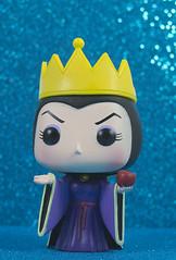 Evil Queen (CptSpeedy) Tags: snowwhite walt disney movie animated cartoon evil queen stepmother crown apple poison dress robes funko pop bad villain purple magic sorcery sony cute adorable