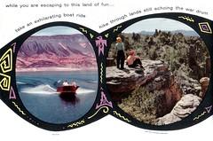 1950s Amazing Arizona 15 - Lake Mead (Tom Simpson) Tags: arizona 1950s postcard vintage travel vintagepostcard tourism landscape lakemead