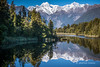 Reflections- Lake Matheson, Fox Glacier, West Coast (flyingkiwigirl) Tags: lake matheson kettle west coast glacier country reflections fox