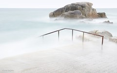 Silence ... (Allette Snijder) Tags: 40foot sandycove dublin ireland water rocks seascape sea soft smooth silence nature longexposure sony a6000 light le ndfilter nd9