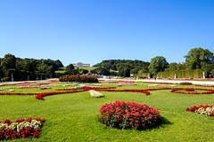 Schnbrunn Palace gardens view & Gloriette (jlgallego) Tags: wien viena schnbrunn palace gloriette