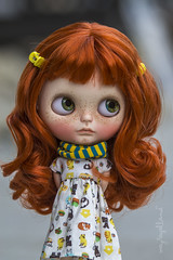 Custom #19 - Commission (Dolly Adventures in the Galland Household) Tags: blythe doll custom collectibles childhood cute girl ginger redhead freckles