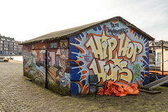 Grafitti of Coolhaven 3 (R. Engelsman) Tags: grafitti coolhaven rotterdam rotjeknor roffa 010 netherlands nederland holland art streetart outdoor building hiphophuis urban mural music painting