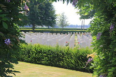 Bayeur War Cemetery, Normandy, France. (Seckington Images) Tags: ww2 flickr