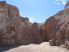 """Le désert d'Atacama: la caverne de sel de la Valle de la Luna <a style=""""margin-left:10px; font-size:0.8em;"""" href=""""http://www.flickr.com/photos/127723101@N04/29121043382/"""" target=""""_blank"""">@flickr</a>"""