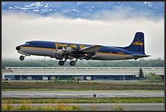 N451CE Everts Air Cargo (Bob Garrard) Tags: n451ce everts air cargo douglas dc6a r6d1 liftmaster us navy buno 131609 n840cs