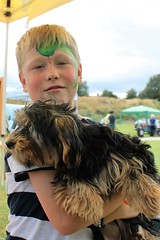Bailey and Flo at Oakham Fun Day Cutts Close Oakham (@oakhamuk) Tags: flo oakhamfunday cuttsclose oakham rutland martinbrookes yorkiepoo puppy