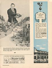 Vacationland, Summer 1960 10 - Nature's Wonderland (Tom Simpson) Tags: vacationland vintage 1960 1960s disney vintagedisney disneyland waltdisney natureswonderland minetrainthroughnatureswonderland