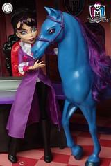 Monster High Head Mistress (PrinceMatiyo) Tags: nightmare headmistress mattel doll monsterhigh