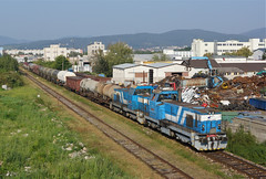 736024/016 Prievidza (Gridboy56) Tags: zsskcargo zssk grumpy bardotky 736 751 736024 736016 751192 751047 751035 68321 novaky hornastubna prievidza europe diesel railways railroad railfreight trains train locomotive locomotives slovakia