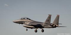F-15E Strike Eagle 91-324 landing in LEAB at TLP (Ignacio Ferre) Tags: aircraft airplane avin aviation military fighter eagle f15 albacete leab losllanos tlp tacticalleadershipprogramme landing nikon strikeeagle