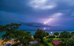 Adriatic Sea (43) -storm (Vlado Fereni) Tags: adriatic adriaticsea jadranskomore jadran croatia croatianislands otoci hrvatska hrvatskiotoci islands storm lighting thunder nikond600 tamron1735284 nocturnal krkisland njivice