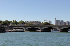 Pont a'Lna,  River Seine, Paris (Ronto) Tags: princesscruises caribbeanprincess paris france riverseine pondalna