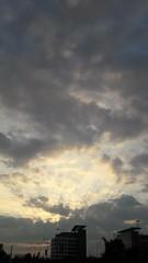 Soleil levant  (Septembre  2016) (Ostrevents) Tags: saintdenis france europe europa ledefrance region land ciel sky soleil sun levdesoleil sunset nuage shaddow ambiance lumiere light automne matin morning chn osrtevents