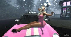 I  pink (Lise Button) Tags: deliriumstyle fms magika maitreya mesh marketplace minidress miss avatar artistic pink taxi shoes kc blonde secondlife sexy sensual style