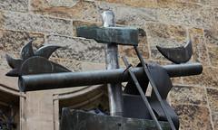 (wpt1967) Tags: canon50mm castroprauxel christus eos60d inri kirche kirke kreuz kreuzigung mond ruhrgebiet ruhrpott sonne church cross crucifixion wpt1967