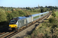 68012 passes Kings Sutton (Ross Taylor pictures 2015) Tags: 68012 1k50 k50 1715 london marylebone kidderminster kings sutton oxfordshire 2016 uk england