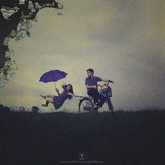 """ HANDLING TIME "" (NOCHI SARDEA) Tags: selfportrait painterly art fall texture clock bike umbrella hair paper photography movement nikon asia time philippines creative levitation falling burn ashes tc conceptual nikkor fell selfie nochi bigclock handling burningpaper d90 prenup prenuptial japanesebike burnpaper photocrappy nikkor35mm18 neoconceptualism nochiphotocrappy nochi2009 nochisardea twigsandclouds handlingtime tcphotographyanddesign levitationbike bikelevitation"