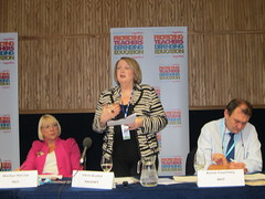 IMG_1953 (nasuwt_union) Tags: nasuwt education conference woman man black white speaking stand hall meal drinks happy members workshop pesident birmingham banner meeting stage positive portrait guidance crowd teachers leaders lectures students awards executive staff show tell help advice support listen adults people england scotland northern ireland wales strong women men insturction health safetly wellbeing classroom school college university table voting union best brilliant workplace seminar