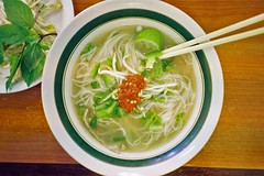 Pho King (Nicholas_Luvaul) Tags: food film analog zeiss 35mm sticks lomography chili king vietnamese tasty super iso delicious steak carl chop basil noodles peppers 100 lime t3 pk pho cilantro rare yashica nom culantro
