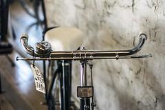 Handlebars price tag (ESSEM-Fotografe : Sean Mullarkey) Tags: classic vintage bikes retro bicycles springs seats adelaide brakes rims tyres cycles