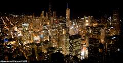Sweet Home Chicago (AlessandroZbo) Tags: city usa chicago skyline america skyscraper canon us illinois sears searstower united michiganave batman states gotham architettura willis chicagoskyline gothamcity sweethomechicago anawesomeshot canon450d willistower
