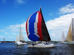 Colourful sail (luceknight) Tags: ocean sea sun beach water sailboat race port boats boat sailing ship ships sunny sail regatta recife pernambuco rememberthatmomentlevel1 rememberthatmomentlevel2