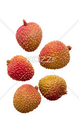five lychees (griofood8877) Tags: china pink red food brown white nature up closeup fruit asian photography juicy healthy raw close skin display sweet eating group over chinese objects tasty fresh delicious whole indoors whitebackground exotic health tropical studioshot pulp diet subtropical refreshing foodanddrink isolated displayed textured spiked lychee ripe nutrition ingredient vitamin tropicalfruit healthyeating litchi leechee lichi lichee litschi colorimage litchee lechee sweetfood mediumgroupofobjects nopeoplenobody