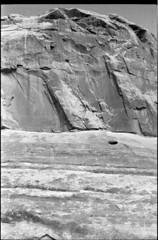 Face (Alyx Shea) Tags: bw beautiful 35mm utah blackwhite canyon moab hp5 ilford olympusom1 ilfordhp5olympusom1moab
