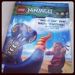 Ninjago หนังสือการ์ตูนยอดฮิตของเด็กยุคนี้