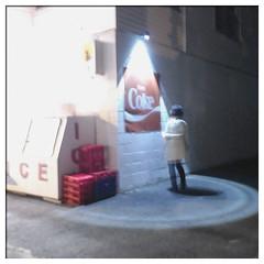 Hopperesque (Richard_Pelletier) Tags: ice night coke soir hopper iphone