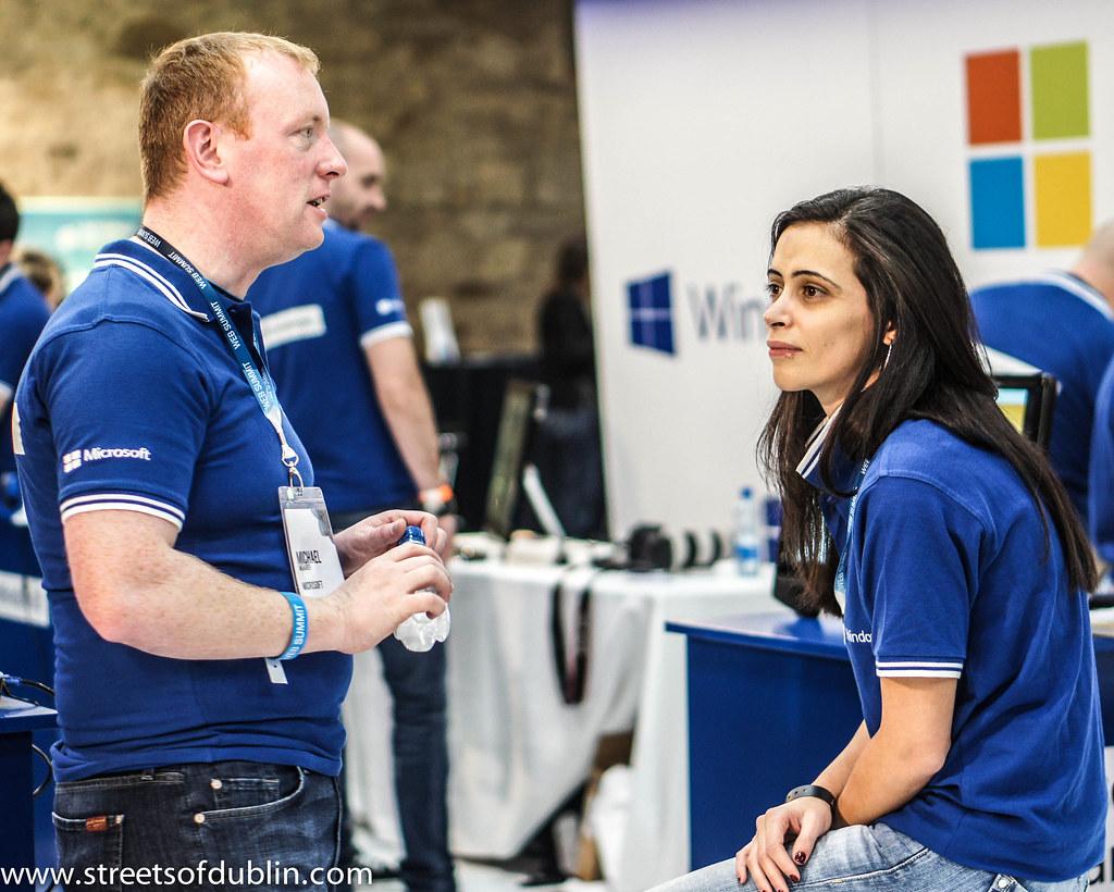 Microsoft: Web Summit 2012 In Dublin (Ireland)