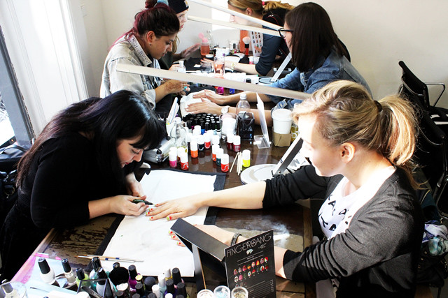 The Fingerbang Pop Up Nail Art Salon Iheartberlin