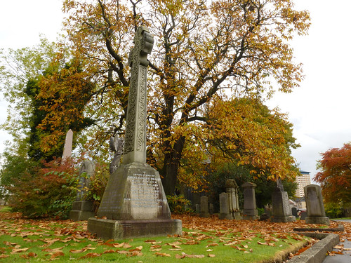 Woodside autumn cross