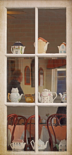 Traditional Tea Room Window