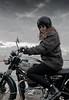 Roos Triumph (4WindsImages) Tags: sky clouds motorbike triumph motor motorgirl