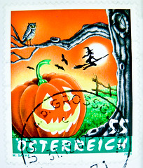 great stamp Austria 55c Halloween Jack O'Lantern  Jack-o'-lantern  Krbis tte de citrouille  Cucurbita punkin' pumpkin head witch owl bats pompoen hoofd postage timbre Autriche sello calabaza francobollo Austria postzegel Oostenrijk (stampolina) Tags: autumn orange moon fall halloween automne pumpkin austria sterreich witch jackolantern stamps traditional ngc herbst pumpkinhead stamp owl otoo  55 calabaza autunno tem postzegel punkin bats ausztria krbis selo bolli citrouille sello sellos sterrike  briefmarken avusturya pulu frimrken   pompoen  francobollo rakousko selos cucurbita kabak timbres frimrker austrija  francobolli  zegels timbresposte  zegel znaczki markica  frimerker   ttedecitrouille        raztka