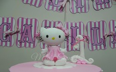 Hello Kitty (Mily'sCupcakes) Tags: hello birthday pink argentina cookies buenosaires princess year kitty first cupcake milyscupcakes