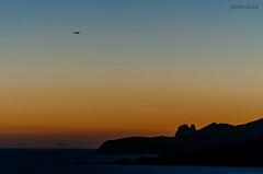 Siempre llega la hora de partir (Joseeivissa 2.0) Tags: las sunset seascape airplane landscape atardecer nikon ses sigma ibiza eivissa scape 70200 avion salina salines d90 joseeivissa joseeivissafotosgmailcom