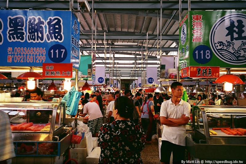 【屏東東港】華僑市場.大啖新鮮海產的好所在