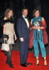 Ralph Fiennes and guest Royal World Premiere of Skyfall held at the Royal Albert Hall - London, England