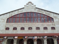 Cowtown Coliseum - home of Texas rodeo (happily Evan after) Tags: yards texas stock rodeo coliseum ftworth cowtown