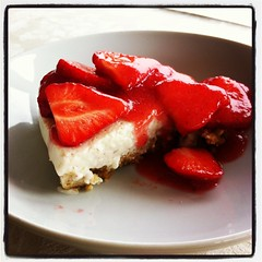 Isobel's Carageen Cheesecake