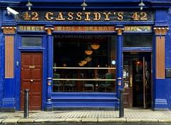 The tourist attraction, Cassidys pub, Dublin, Ireland (Dragos Cosmin- Getty Images Artist) Tags: uk ireland dublin colour wall bar irland guinness 42 touristattraction terace cassidys cassidyspub