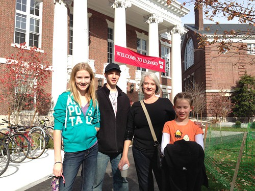 Family at Harvard by Wesley Fryer, on Flickr