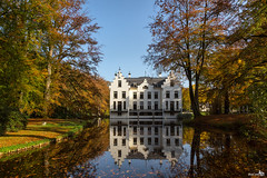 "Castle ""Staverden"" (set) (BraCom (Bram)) Tags: autumn trees holland reflection castle canon pond bomen herfst nederland thenetherlands moat kasteel vijver gelderland ermelo spiegeling staverden canonef24105mmf4lisusm slotgracht castlestaverden kasteelstaverden bracom canoneos5dmkiii"