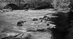 Skelwith Bridge, Lake District (72Potter) Tags: bw river landscape lakedistrict wellies skelwithbridge