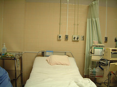 出産のための待機ベッドの写真