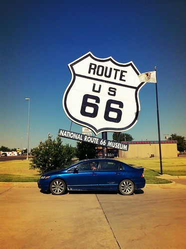 "National Route 66 Museum • <a style=""font-size:0.8em;"" href=""http://www.flickr.com/photos/20810644@N05/8142722693/"" target=""_blank"">View on Flickr</a>"